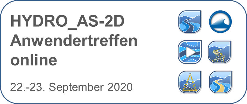 HYDRO_AS-2D Anwendertreffen 2020