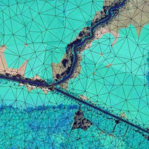 Ausschnitt aus 2D-Berechnungnetz