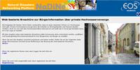 Service für Kommunen: Broschüre zur privaten Hochwasservorsorge web-basiert erstellen