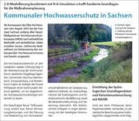 Jahrhunderthochwasser in Ost- und Süddeutschland -  von Hydrotec erstellte Hochwasserschutzkonzepte wirken