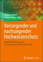 """Buch """"Vorsorgender und nachsorgender Hochwasserschutz"""" mit einem Beitrag von Lisa Friedeheim zur Umsetzung der HWRM-Planung in NRW"""