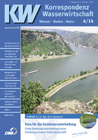 Veröffentlichung: KNEF++ Synergetische Entwicklung von Fließgewässern verbessert Gewässerqualität und Hochwasserschutz