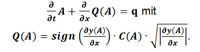 Saint-Venant-Gleichung 2