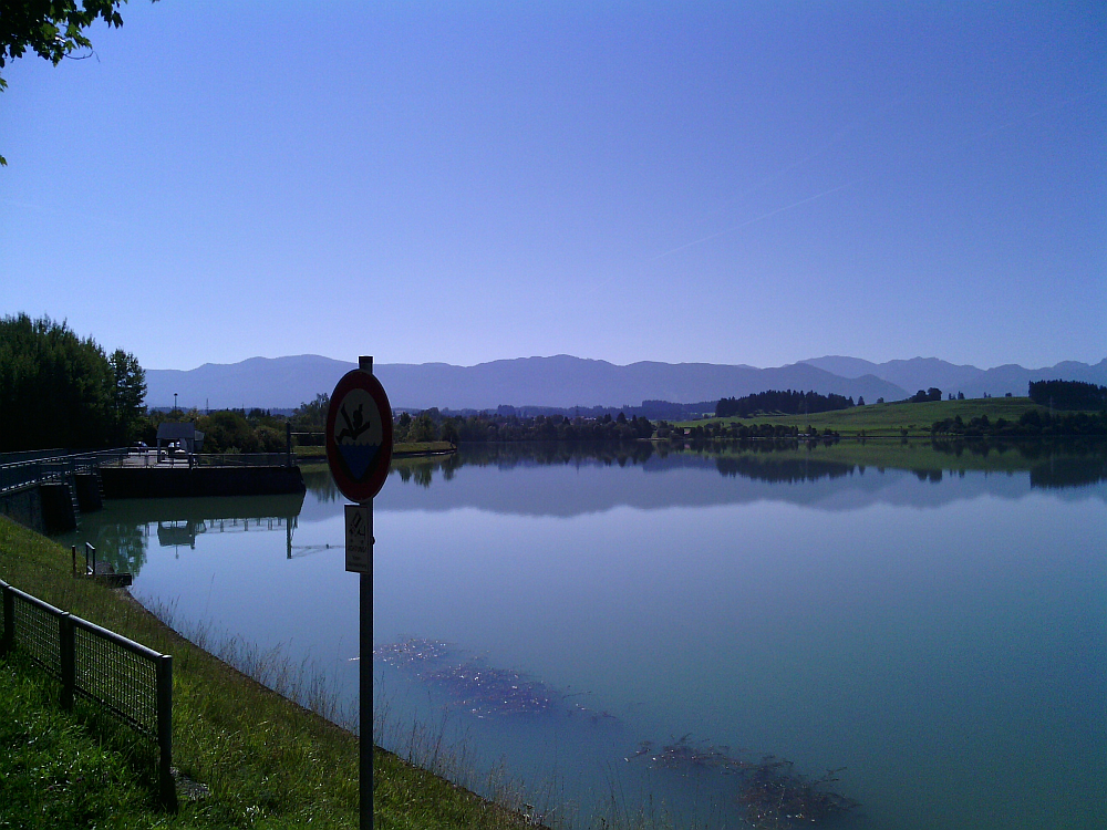 Hochwasserschutzanlage Lech