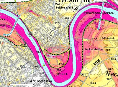 Hochwasserschutz - Hochwassergefahrenkarte