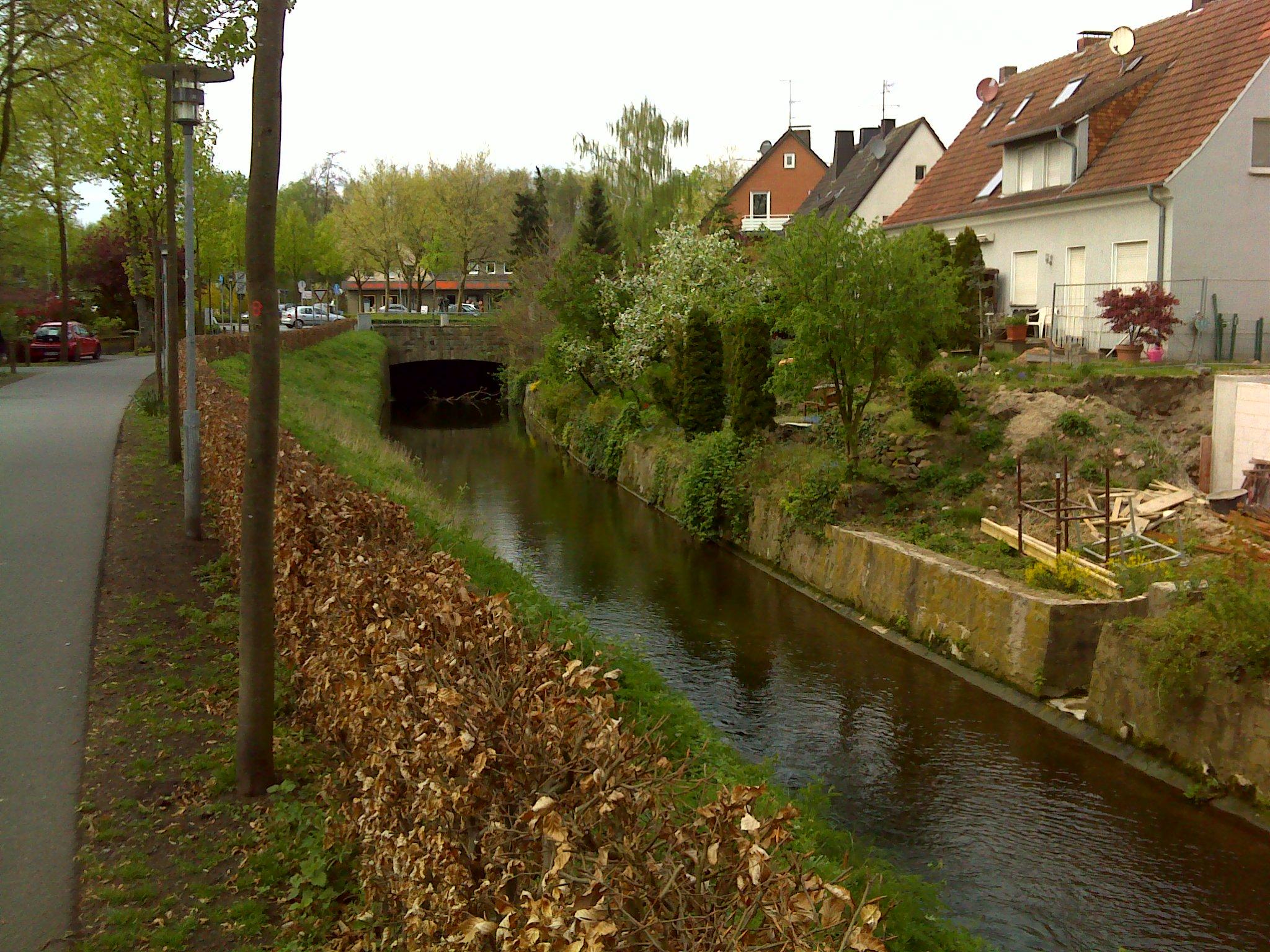Berkel in Coesfeld - hier ist Gewässerentwicklung erforderlich.