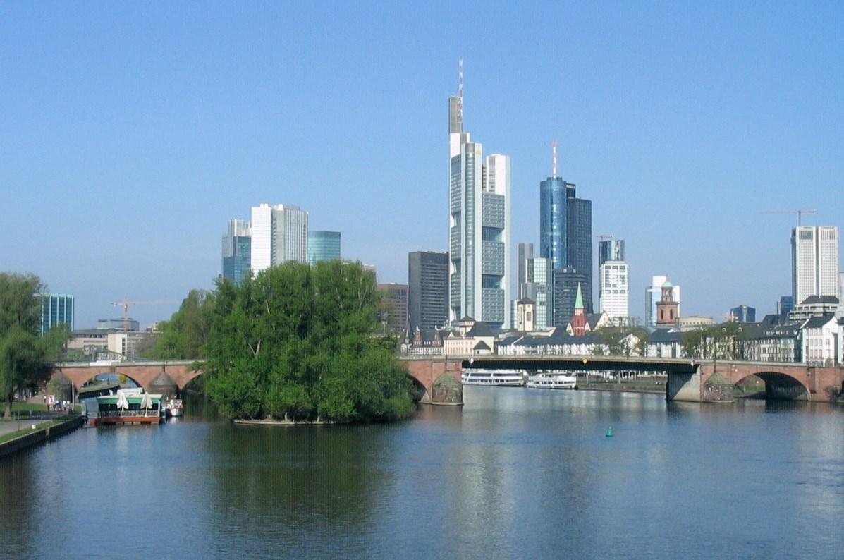 Im Auftrag der BfG erstellte Hydrotec hydraulisches Modell der Bundeswasserstraße Main.