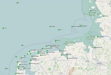 Pegelsystem zur Wasserstandsvorhersage für die deutsche Nordsee
