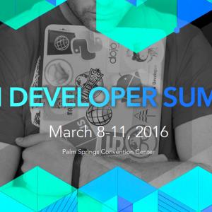 Grafik Esri Developer Summit 2016