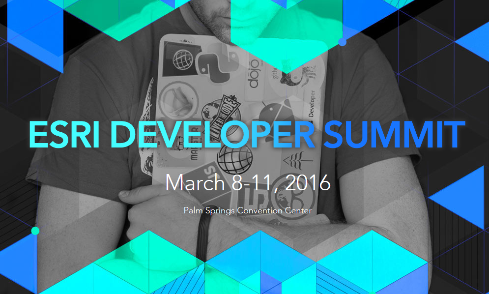 Grafik Esri Developer Summit 2016