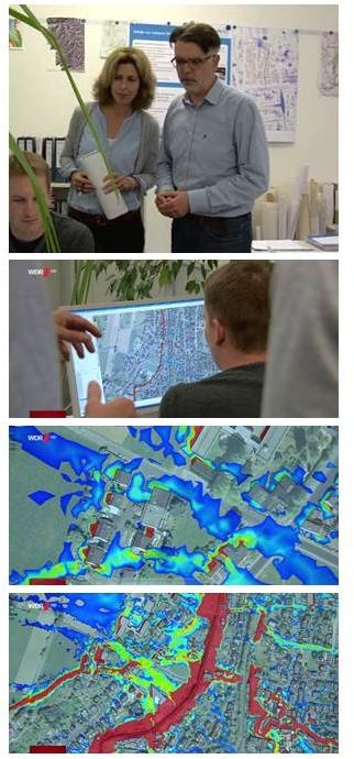 Vorsorge gegen Starkregen Urbane Sturzfluten WDR Aktuell