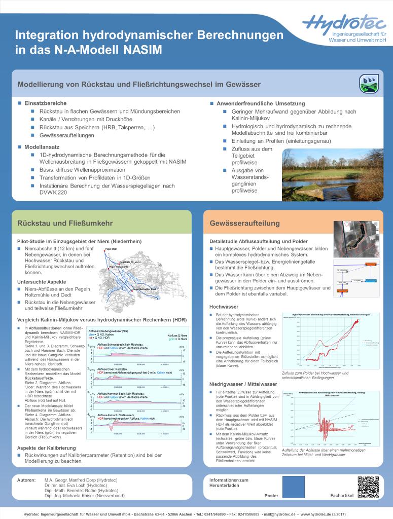 Hydrotec beim Tag der Hydrologie 2017