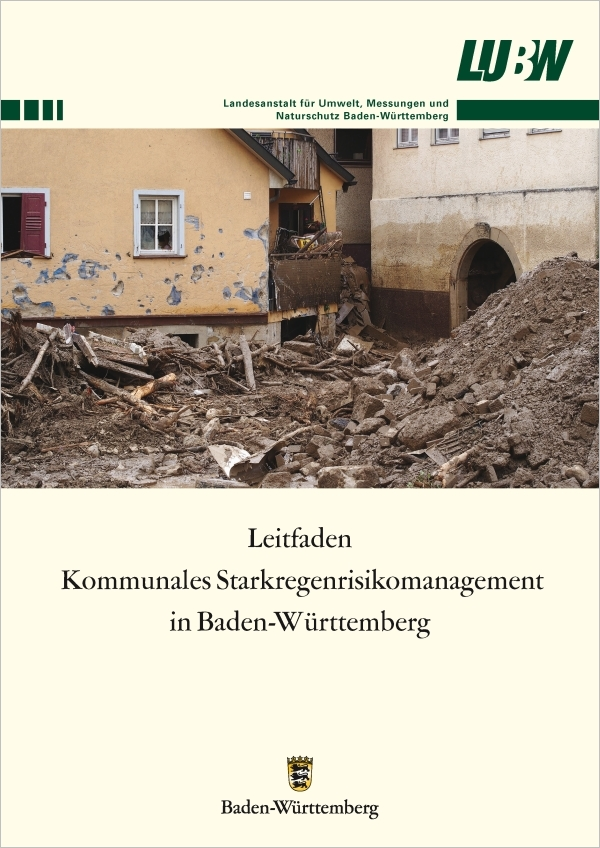 Leitfaden kommunales Starkregenrisikomanagement Baden-Württemberg