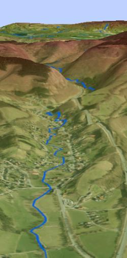 ArcGIS Pro 3D-Ansicht