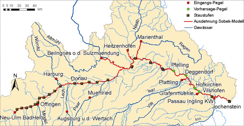 Hydrotec erweitert das SOBEK-Modell der Donau