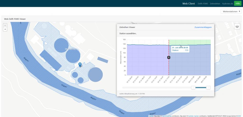 Mobile Anwendungen für Delft-FEWS