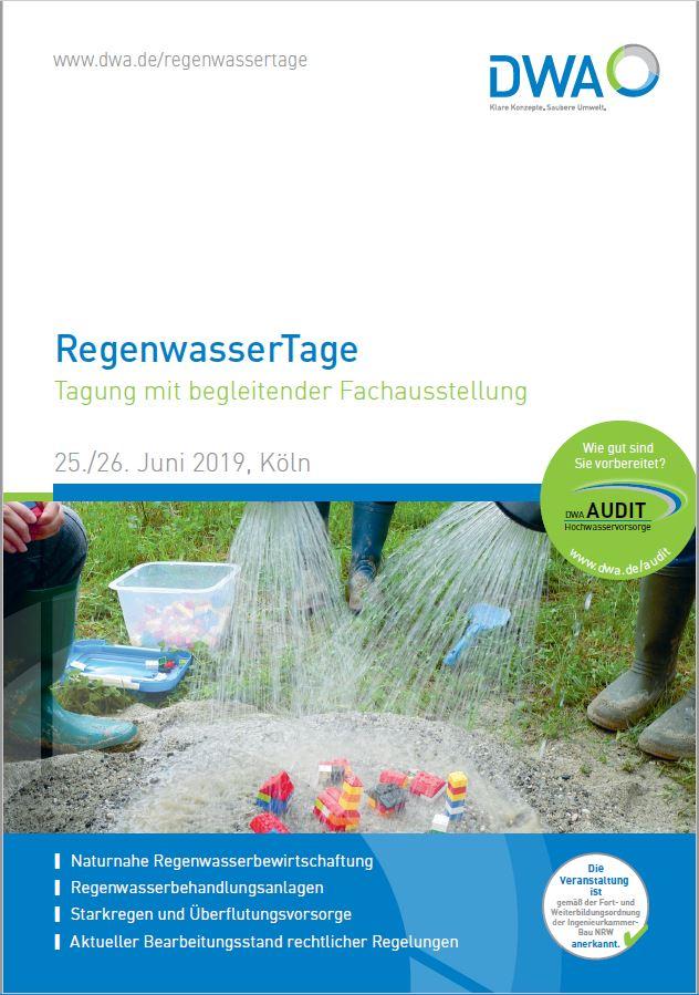 RegenwasserTage Köln 2019