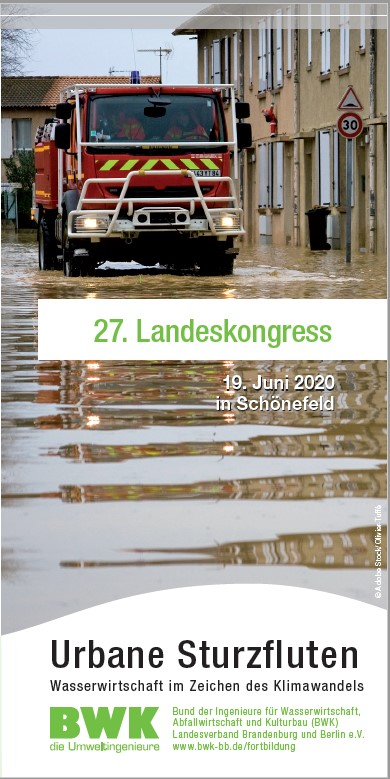 BWK Landeskongress 2020 - Flyer Programm und Anmeldung