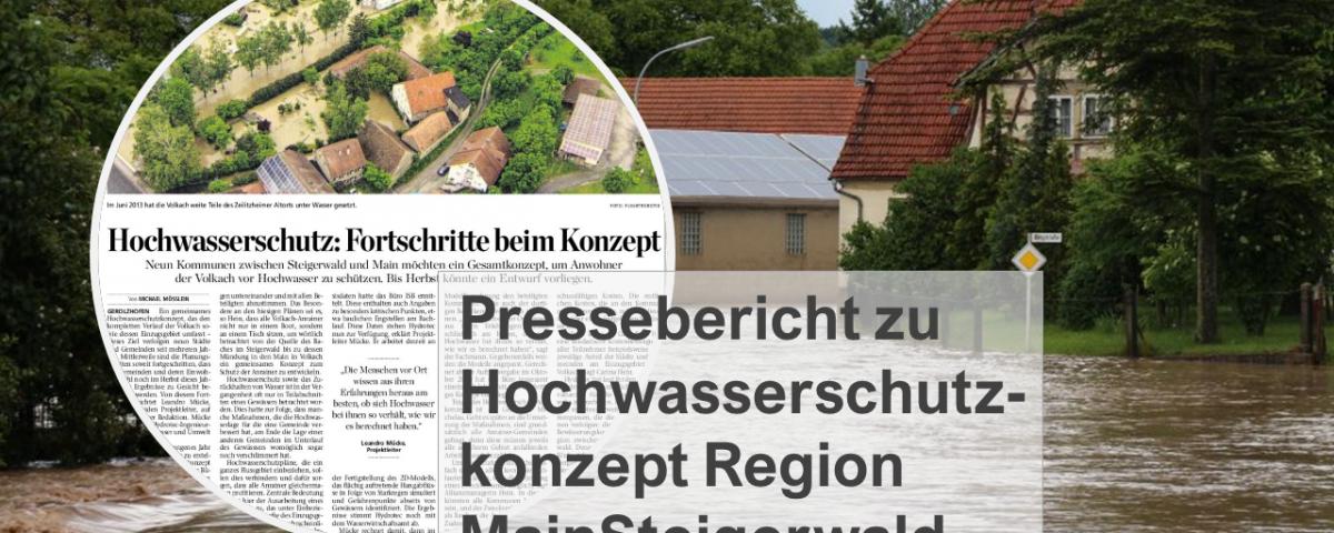 Mainpost-Bericht Hochwasserschutzkonzept Region MainSteigerwald