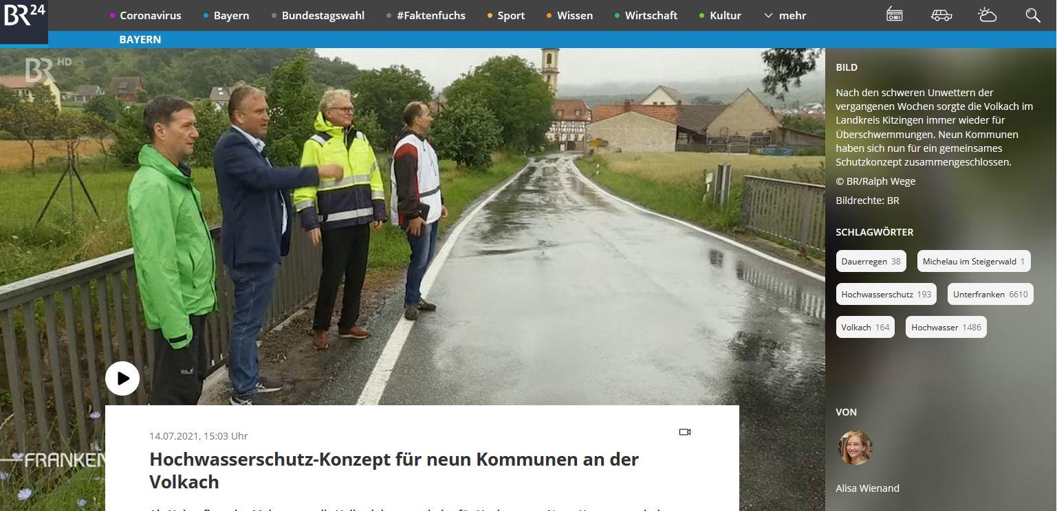 BR-Bericht Hochwasserschutzkonzept MainSteigerwald