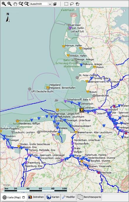 Vorhersage mit Delft-FEWS
