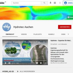 HYDRO_AS-2D Tutorials auf Youtube
